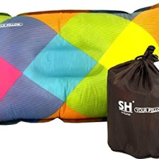 YOUR Pillow! by SHO - Ultimate Self Inflating Travel, Camping & Festival Pillow - Lifetime Guarantee