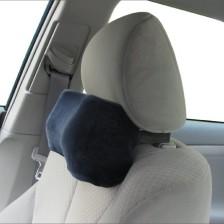 Car Neck Pillow (Soft Version) - Neck Pillow; Car Pillow; Memory Foam Neck Pillow; Neck Rest Pillow; Car Neck Pillow (Color: Dark Blue)