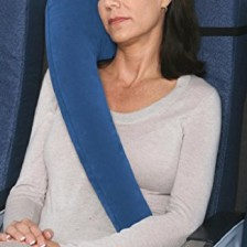 Travelrest - Ultimate Travel Pillow (#1 Best Seller) - Ergonomic, Innovative & Patented - BEST Travel Pillow for Airplanes, Cars, Buses, Trains, Office Napping, Camping, Wheelchairs & Home (Ranked #1 by WSJ)