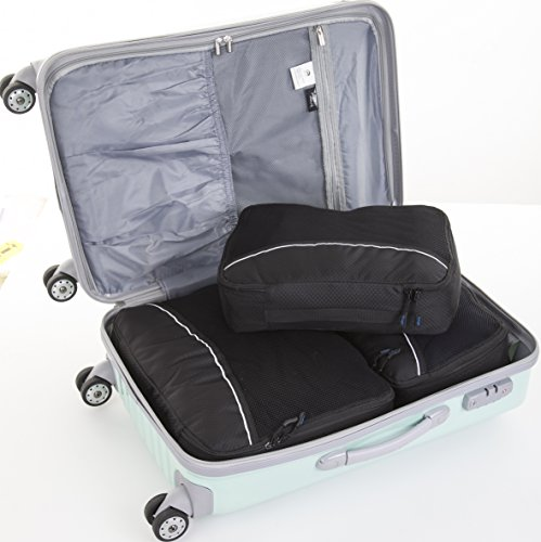 Bago Packing Cubes 4pcs Value Set for Travel – Plus 6pcs Organizer Bags