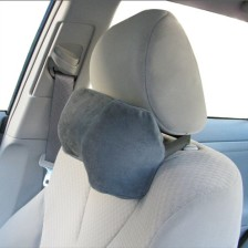 Car Neck Pillow (Soft Version)- Neck Pillow; Car Pillow; Memory Foam Neck Pillow; Neck Rest Pillow; Car Neck Pillow (Color: Grey)