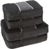 AmazonBasics Packing Cubes – 2 Medium and 2 Large (4-Piece Set)